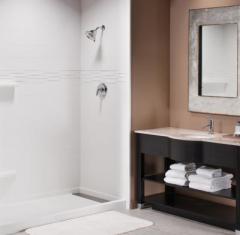 3-Piece Cultured Marble Bathtub / Shower Wall Surround Kit